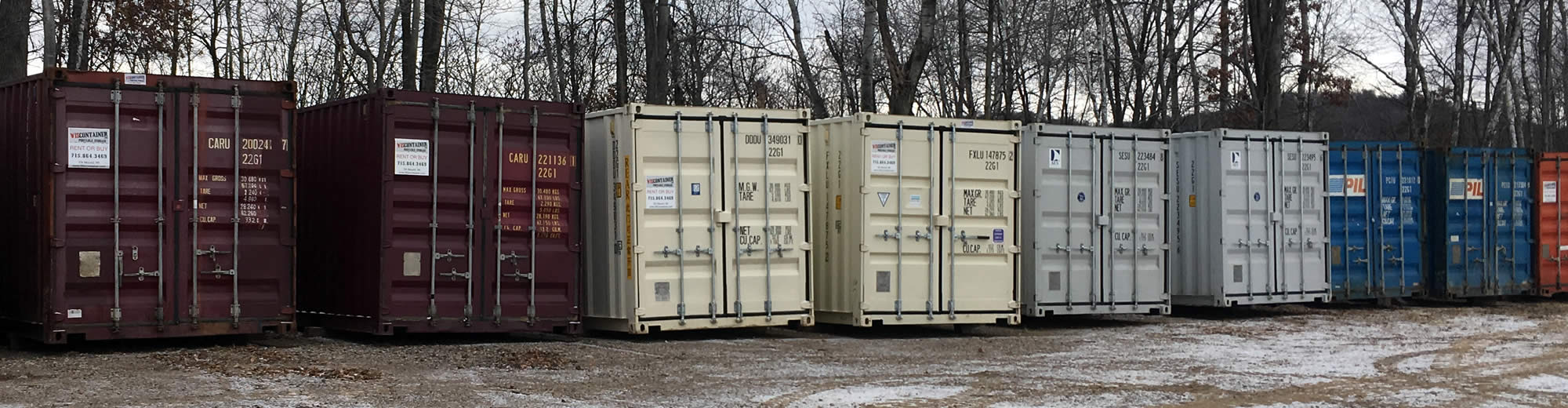 Shipping Containers for Sale Near Me